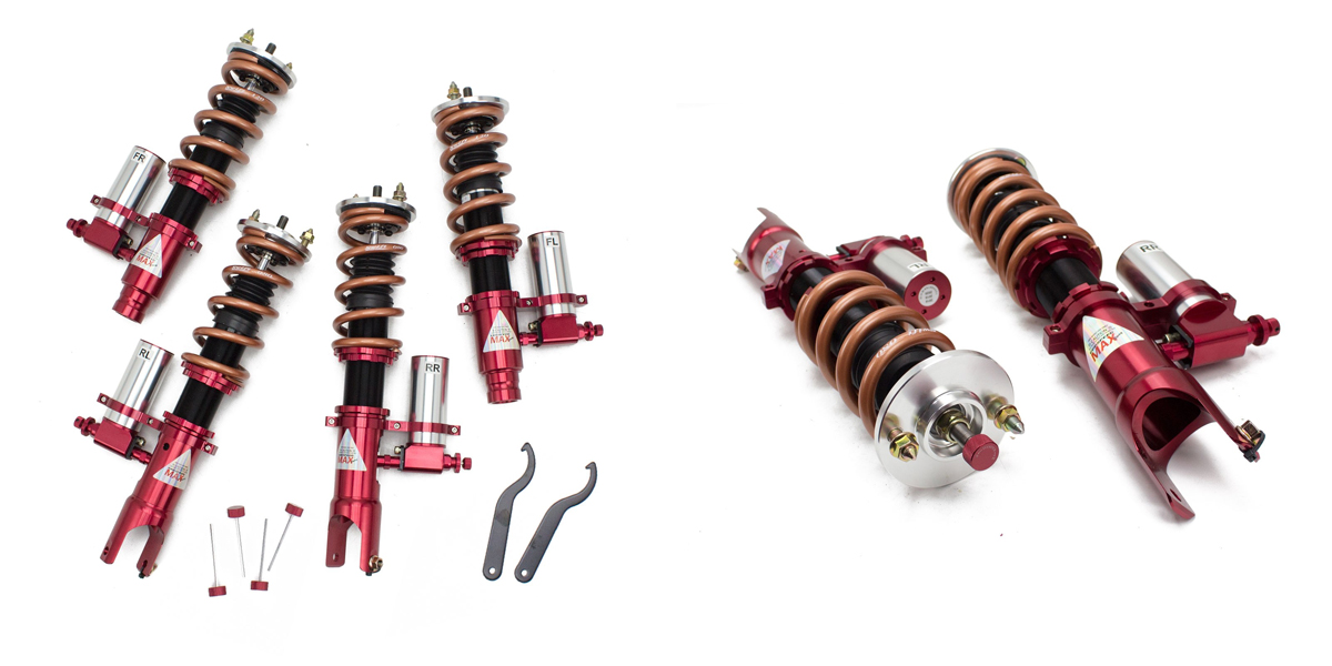 Godspeed Maxx 3 Way Coilovers